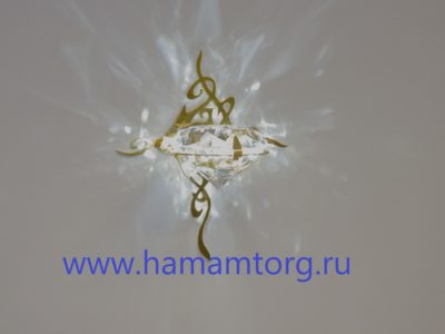 Светильник настенный Cariitti Kihla золото